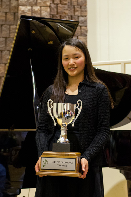Best of Gr 9 Piano Trophy